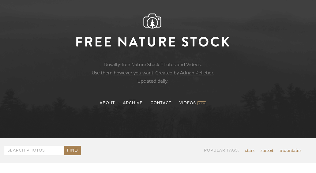 自然に関するフリー写真素材Free Nature Stock
